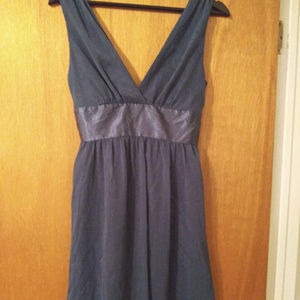 Blue Dress with Sash Sz M